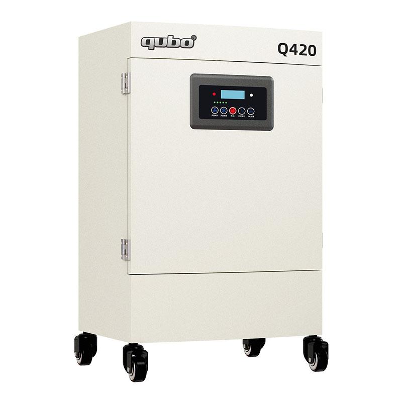 激光切割亚克力烟味净化器Q420